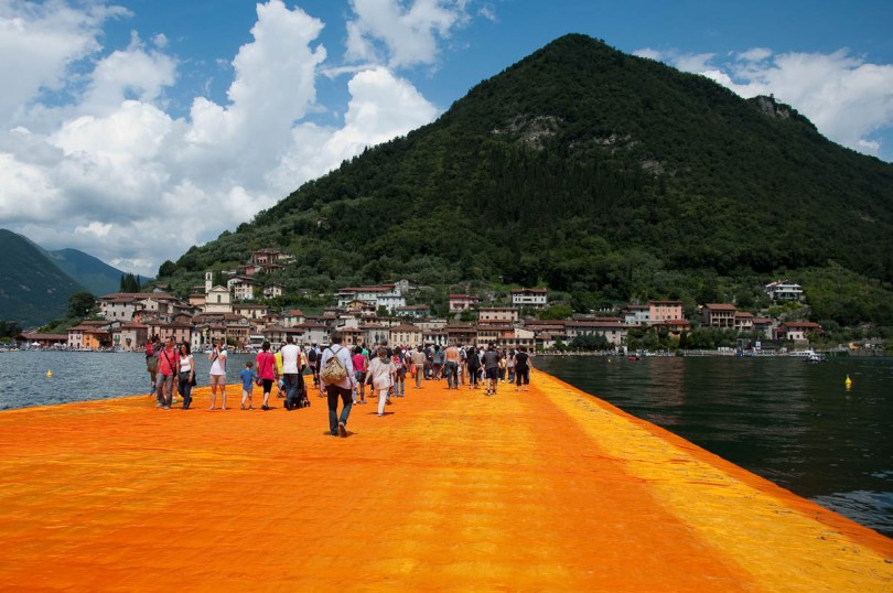 Monte Isola - Lake Iseo - Christo's The Floating Piers - Italy - www.rossiwrites.com
