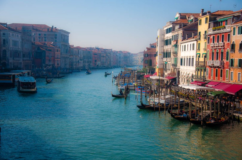 Grand Canal seen from Rialto Bridge - Venice, Veneto, Italy - www.rossiwrites.com