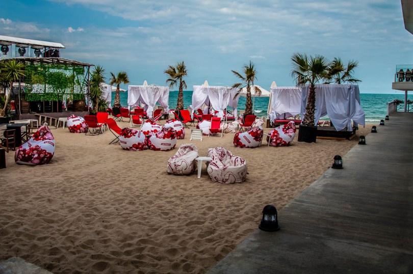 Inside a night club in the Old Sea Baths - Sea Garden - Varna, Bulgaria - rossiwrites.com
