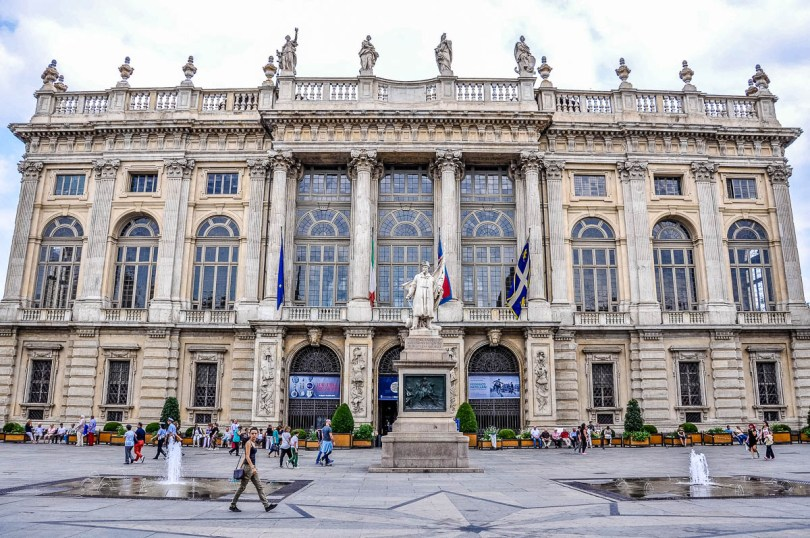 Palazzo Madama - Turin - Piedmont, Italy - www.rossiwrites.com