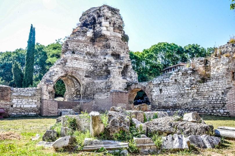 The Roman Baths - Varna, Bulgaria - rossiwrites.com