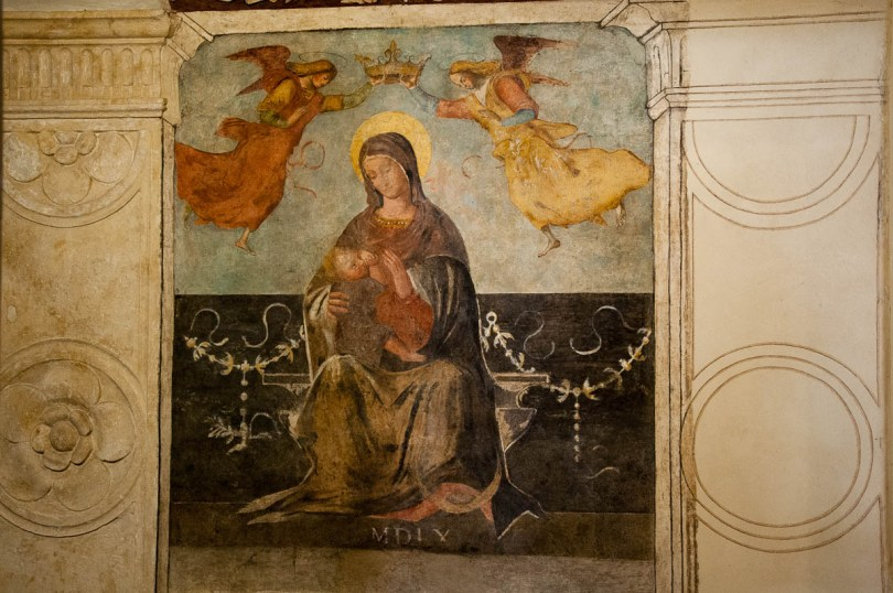 Nursing Madonna - Vicenza, Italy - www.rossiwrites.com
