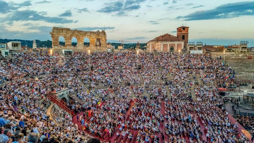 Before the performance - Arena di Verona- Verona Opera Festival - Veneto, Italy - www.rossiwrites.com