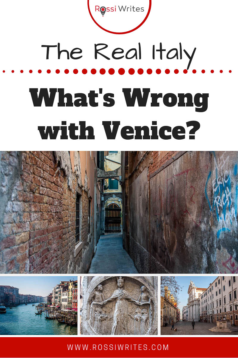 An essay exploring some of the problems that Venice, Italy, faces on a daily basis. #travel