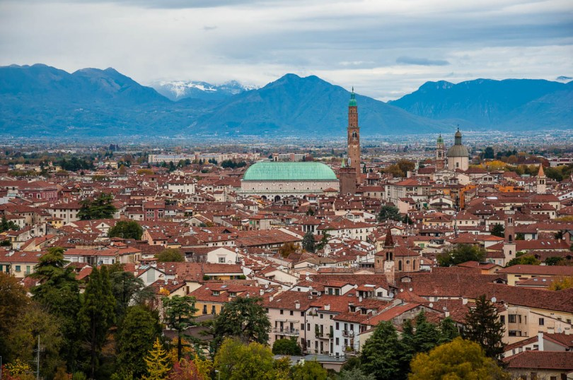 Vicenza after the rain - Veneto, Italy - www.rossiwrites.com