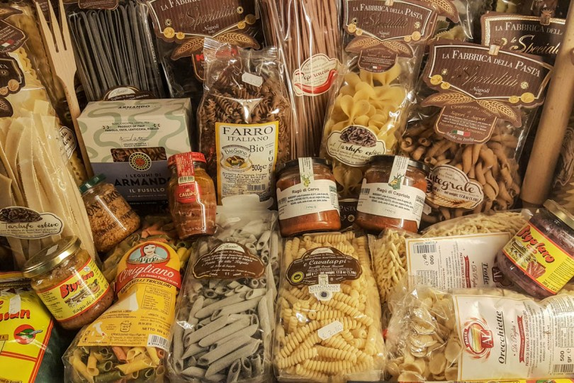 Italian pasta - Vicenza, Italy - Italian food - www.rossiwrites.com