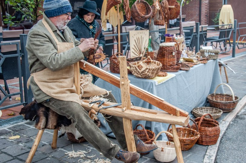 The basketmaker - Borghetto sul Mincio, Italy - www.rossiwrites.com