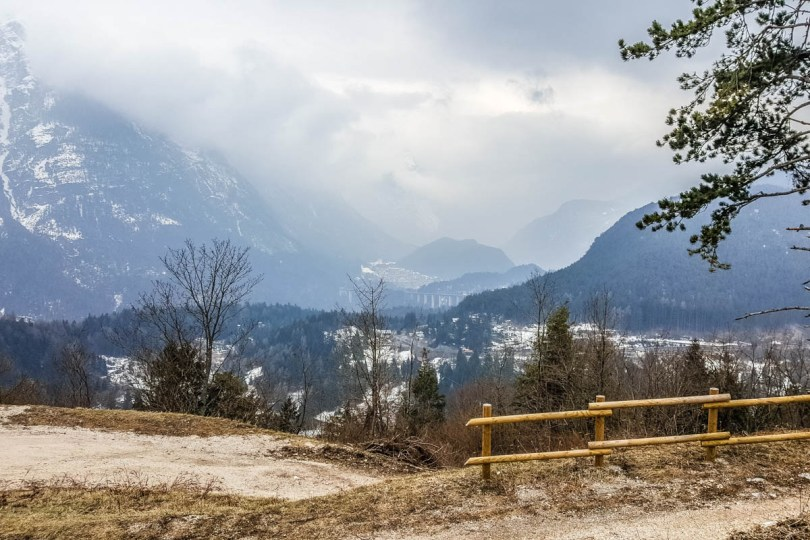 The view from Monte Ricco Fort - Pieve di Cadore, Veneto, Italy - www.rossiwrites.com