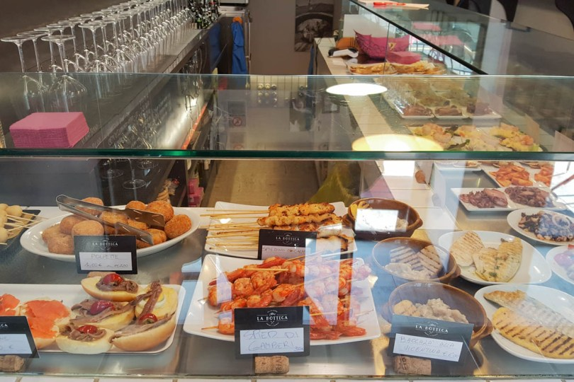 Venetian cicchetti - Vicenza, Italy - Italian food - www.rossiwrites.com