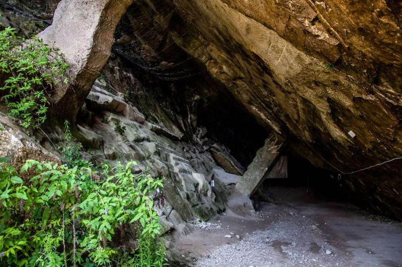 Grotta di Santa Barbara - Grotte di Caglieron, Fregona, Veneto, Italy - www.rossiwrites.com