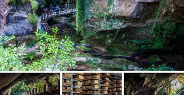 Grotte di Caglieron - Caves, Waterfalls and Cheese - A Great Day Trip in the Veneto, Northern Italy - www.rossiwrites.com