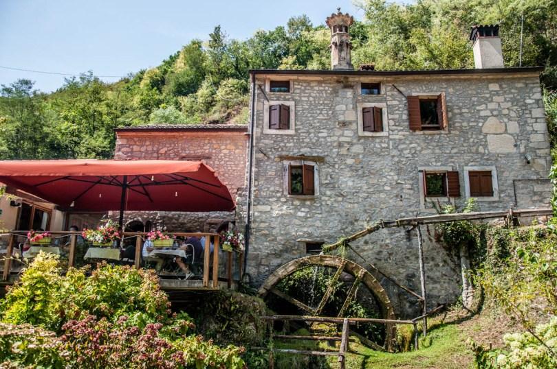 The Ancient Mill - Grotte di Caglieron, Fregona, Veneto, Italy - www.rossiwrites.com