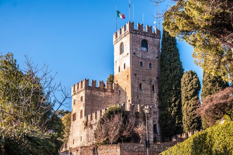 The medieval castle of Conegliano - Province of Treviso, Veneto, Italy - www.rossiwrites.com