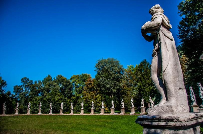 Villa Parco Bolasco, Castelfranco Veneto, Italy - www.rossiwrites.com