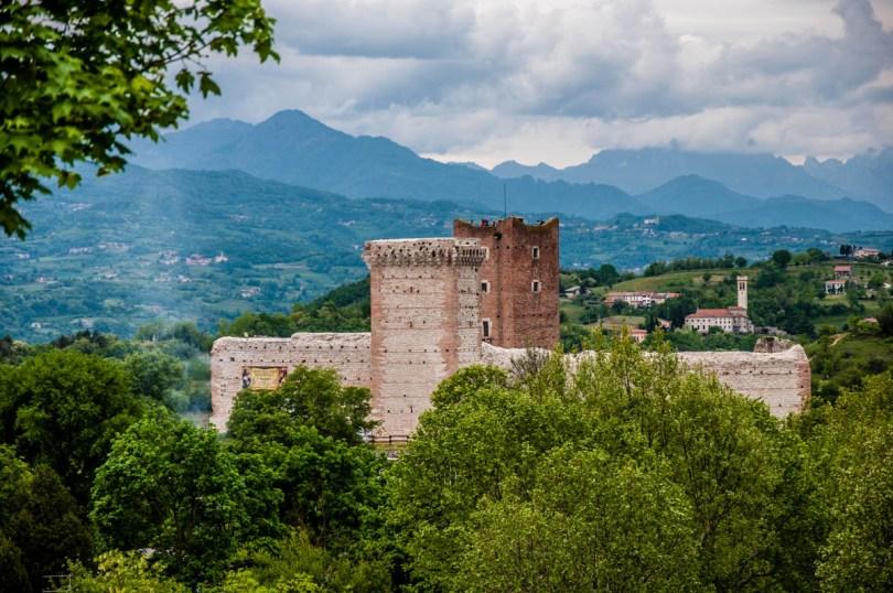 The Villa's Castle also known as Romeo's Castle - Montecchio Maggiore, Veneto, Italy - www.rossiwrites.com