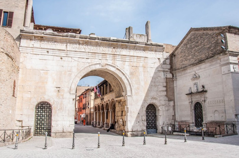 Arch of Augustus - Fano, Marche, Italy - www.rossiwrites.com