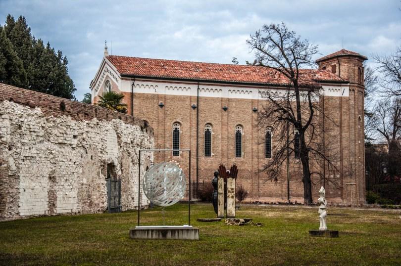 The Scrovegni Chapel - Padua, Veneto, Italy - www.rossiwrites.com