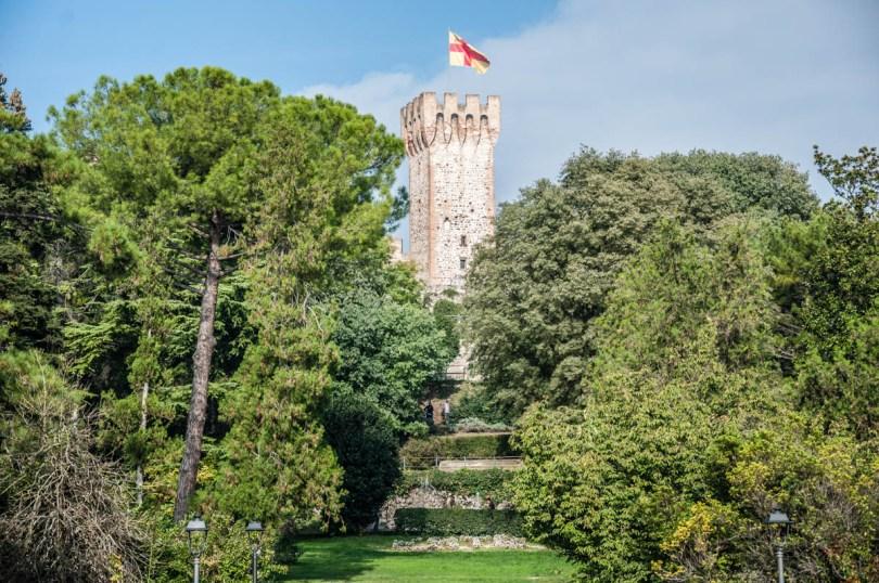 Public Gardens in the Carrara Castle - Este, Veneto, Italy - www.rossiwrites.com
