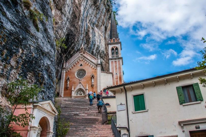 Sanctuary of Madonna della Corona - Spiazzi, Veneto, Italy - www.rossiwrites.com