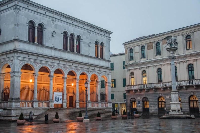 A corner of Piazza dei Signori - Padua, Italy - rossiwrites.com