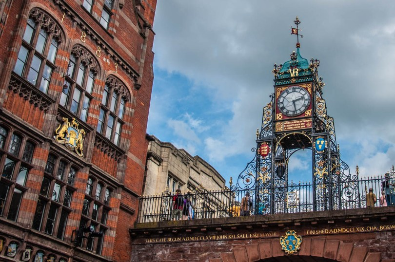 Eastgate Clock - Chester, Cheshire, England - rossiwrites.com