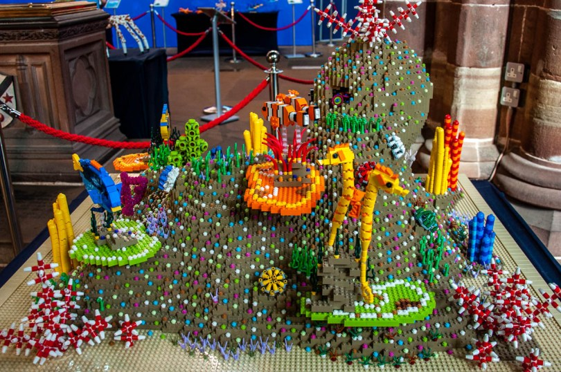Lego exhibition - Chester Cathedral - Chester, Cheshire, England - rossiwrites.com