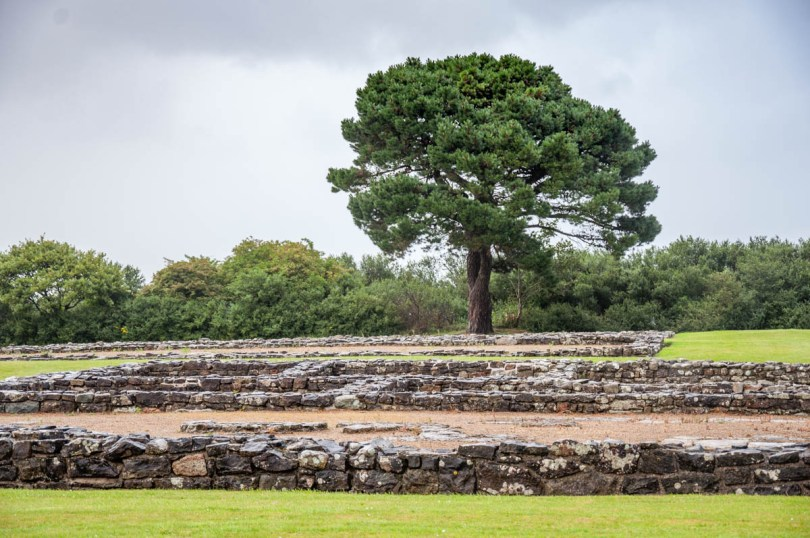 Segontium Roman Fort - Caernarfon, Gwynedd - North Wales, UK - rossiwrites.com
