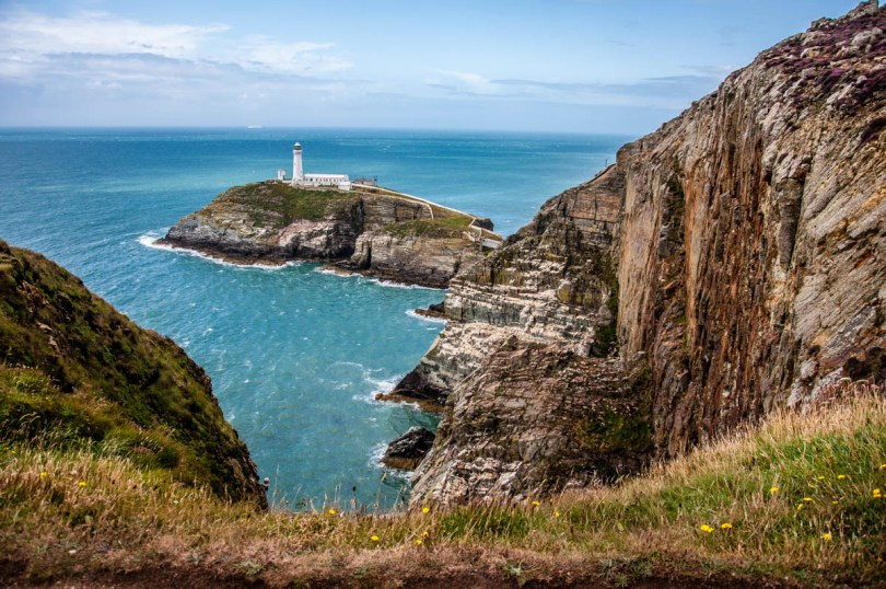 South Stack Lighthouse - Holyhead - Island of Anglesea - North Wales, UK - rossiwrites.com