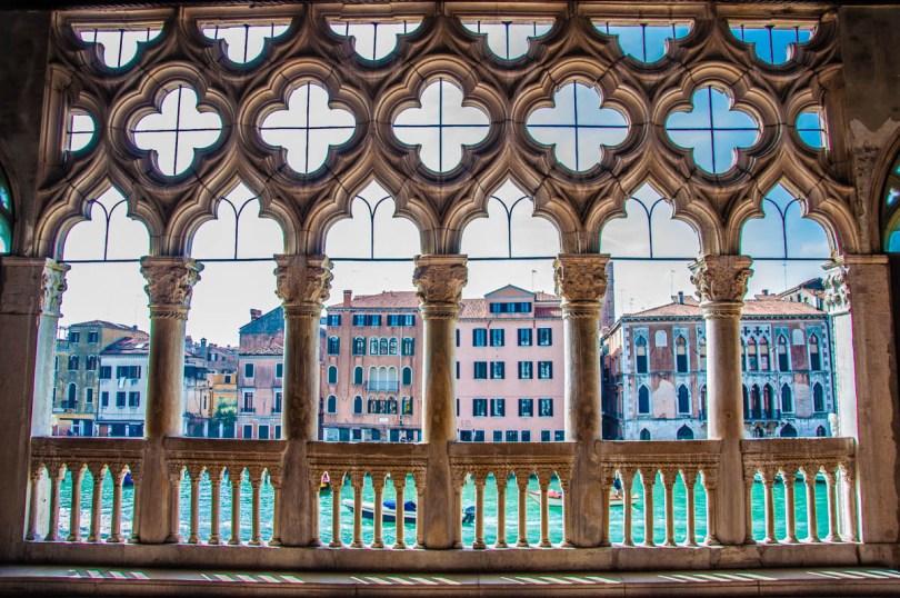 The terrace of Ca d'Oro - Venice, Veneto, Italy - rossiwrites.com