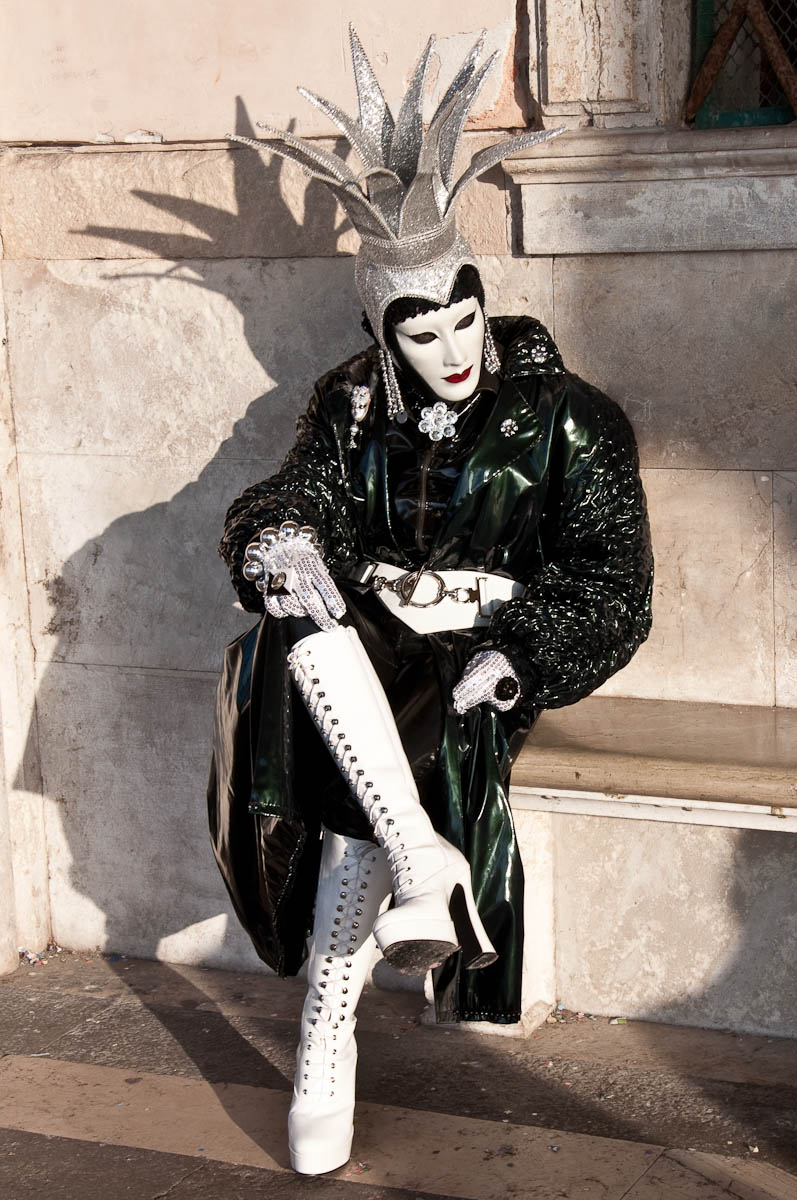 Dressed up for Carnival - Venice, Italy - rossiwrites.com