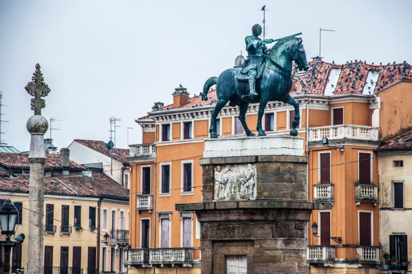 Gattamelata's Equestrian Monument by Donatello - Padua, Veneto, Italy - rossiwrites.com