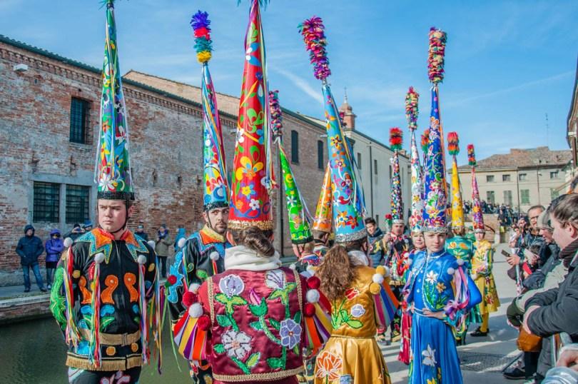 Folk dancers from Modena - Carnival in Comacchio - Emilia-Romagna, Italy - rossiwrites.com