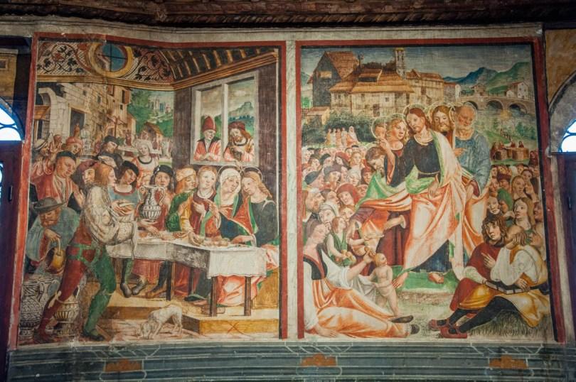 Fresco in Sala dei Battuti - Conegliano, Veneto, Italy - rossiwrites.com