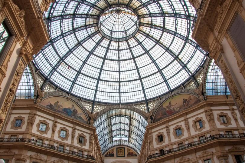 Galleria Vittorio Emanuele II - Milan, Lombardy, Italy - rossiwrites.com