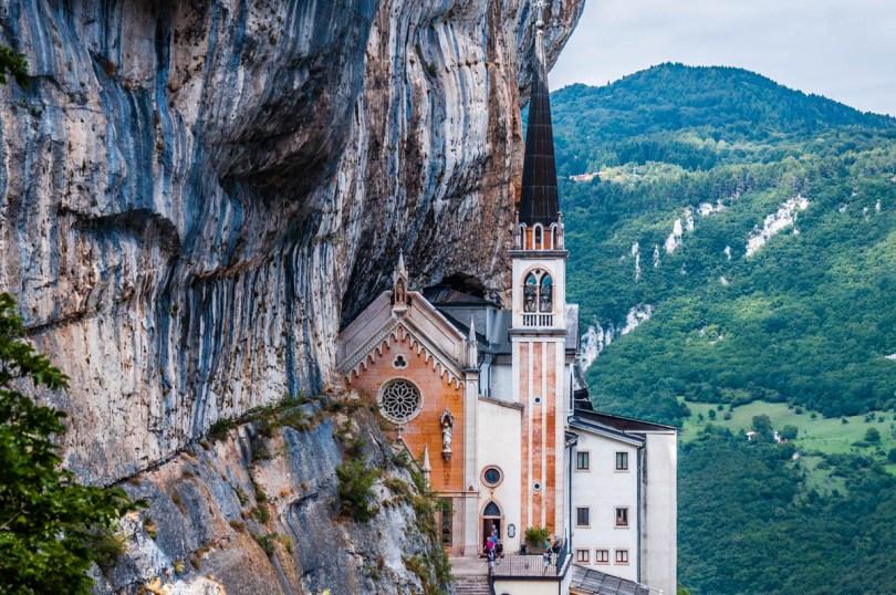 Sanctuary of Madonna della Corona - Spiazzi, Veneto, Italy - rossiwrites.com