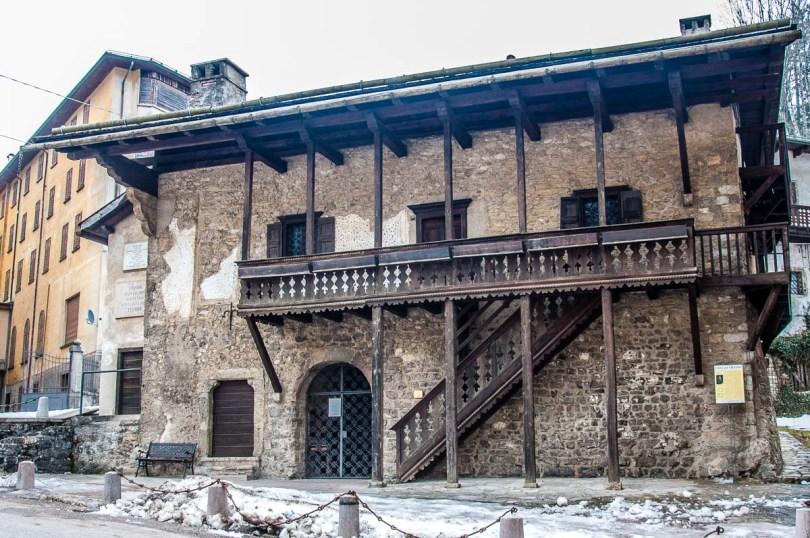 Titian's birth house - Pieve di Cadore - Province of Belluno, Veneto, Italy - rossiwrites.com