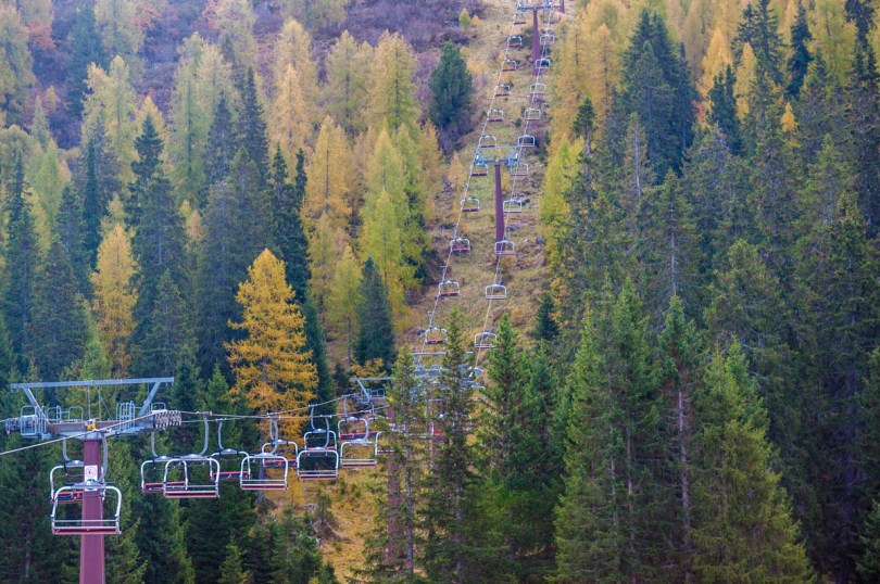 Chairlift - Dolomites, Trentino, Italy - rossiwrites.com