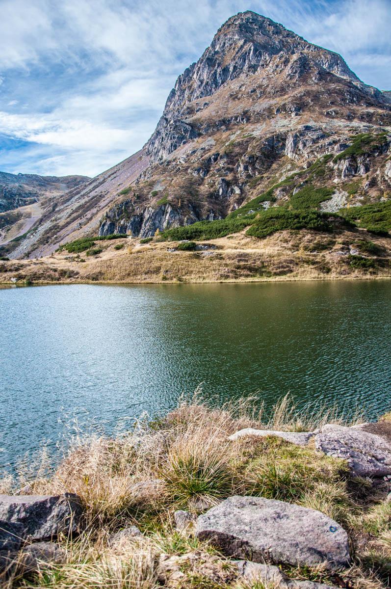 Cima de Colbricon Mountain with the Lakes Colbricon - Paneveggio - The Violins' Forest - Dolomites, Trentino, Italy - rossiwrites.com