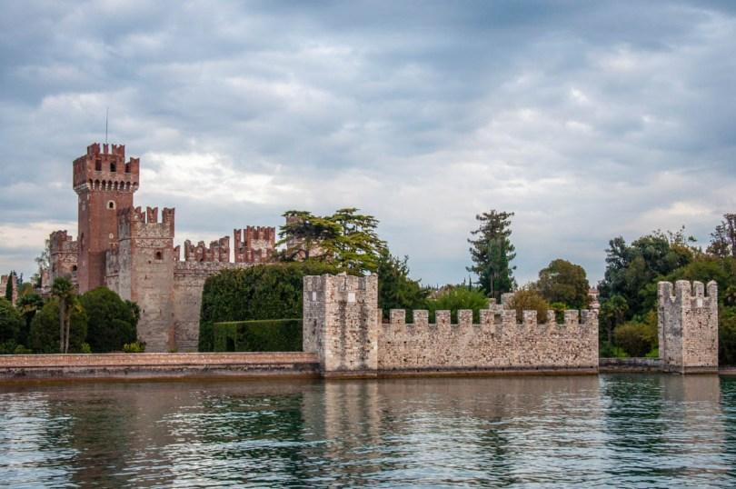 Scaliger Castle in Lazise - Lake Garda, Italy - rossiwrites.com