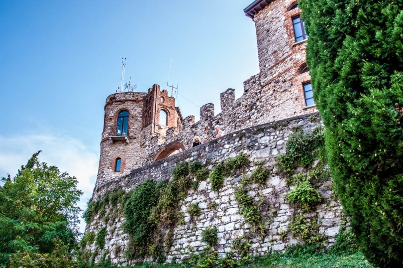 The Medieval Castle - Desenzano del Garda, Lombardy, Italy - rossiwrites.com