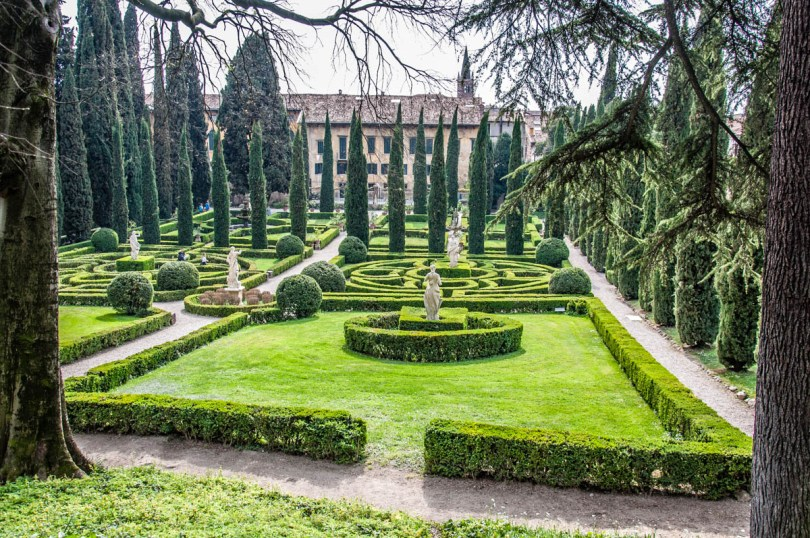 Giardino Giusti - Verona, Veneto, Italy - rossiwrites.com
