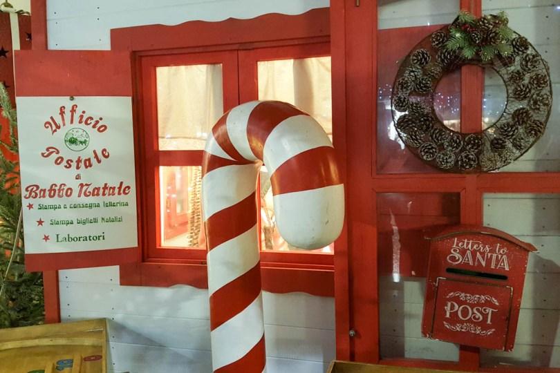 Santa's Post Office - Padua, Veneto, Italy - rossiwrites.com