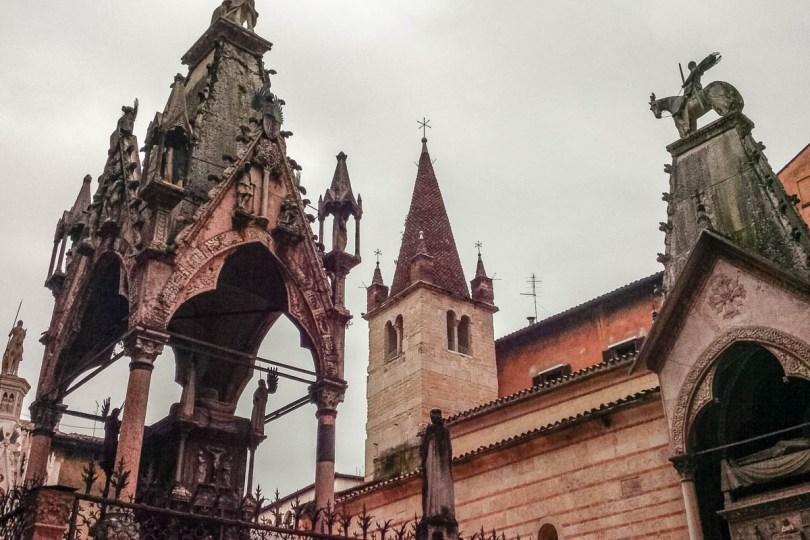 Scaliger Arches - Verona, Veneto, Italy - rossiwrites.com