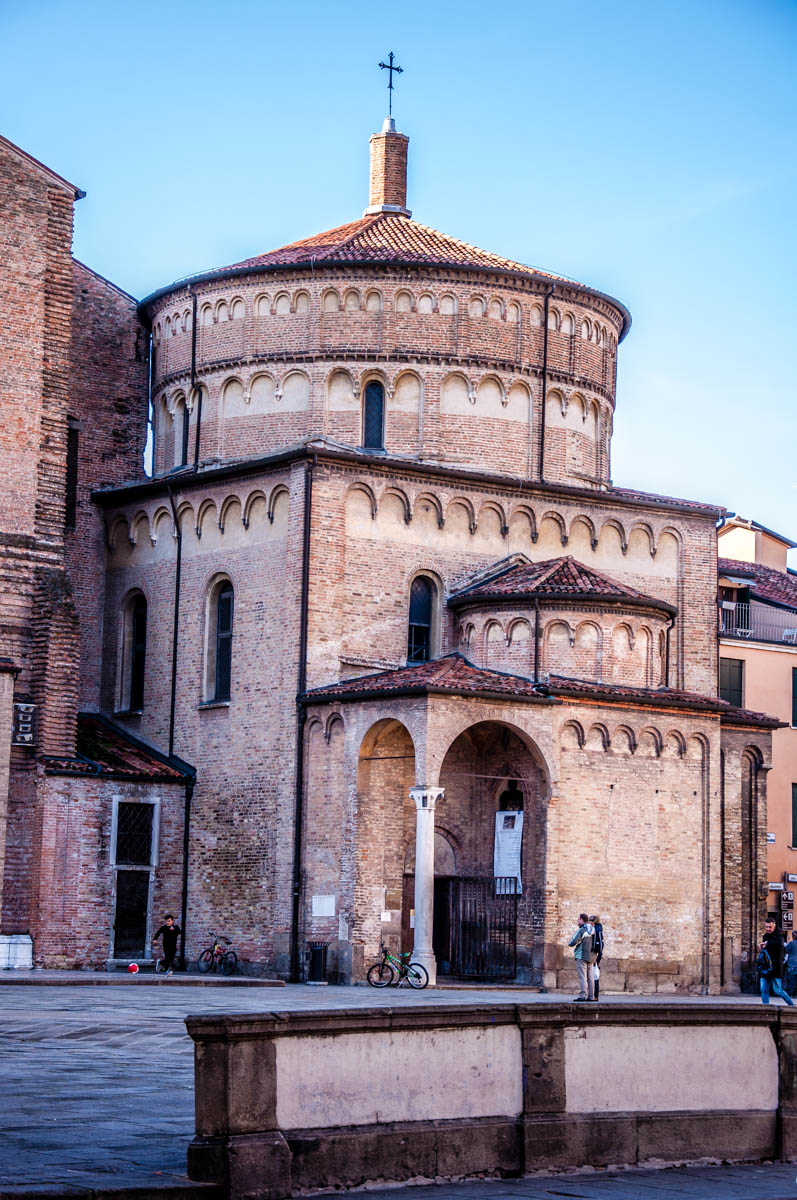 The Baptistery - Padua, Veneto, Italy - rossiwrites.com