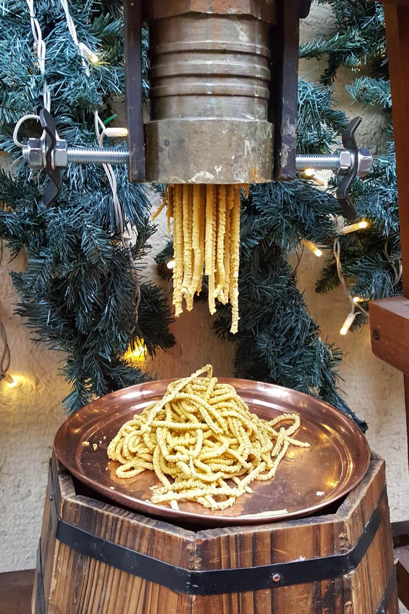 Torchio to make bigoli - Verona, Veneto, Italy - rossiwrites.com
