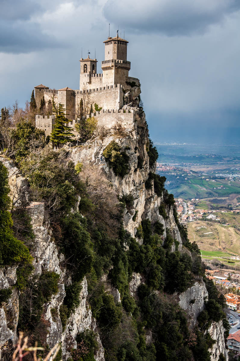 Guaita - The First Tower - San Marino - rossiwrites.com