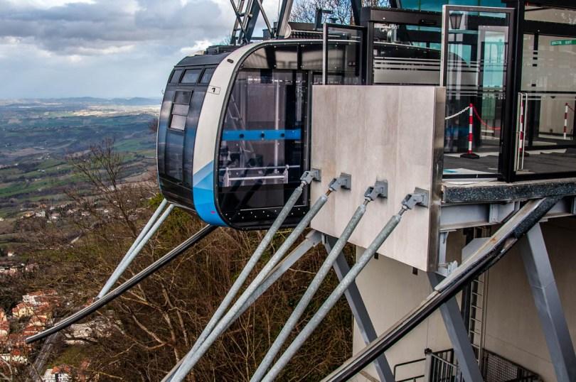 San Marino's funicular - San Marino - rossiwrites.com