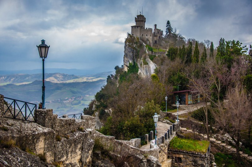 The Witches' Pass and the Cesta - San Marino - rossiwrites.com
