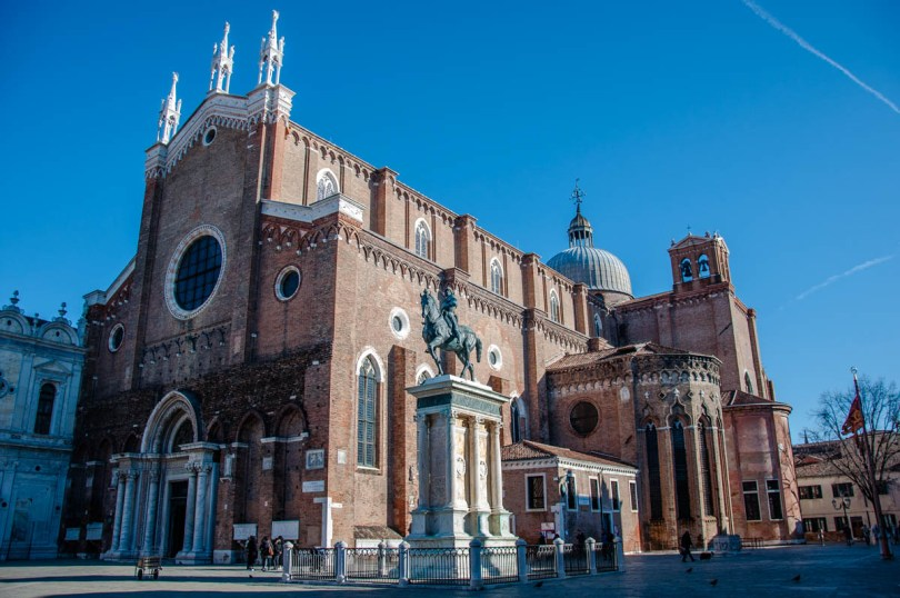 Basilica of Santi Giovanni and Paolo - Sestiere of Castello - Venice, Italy - rossiwrites.com