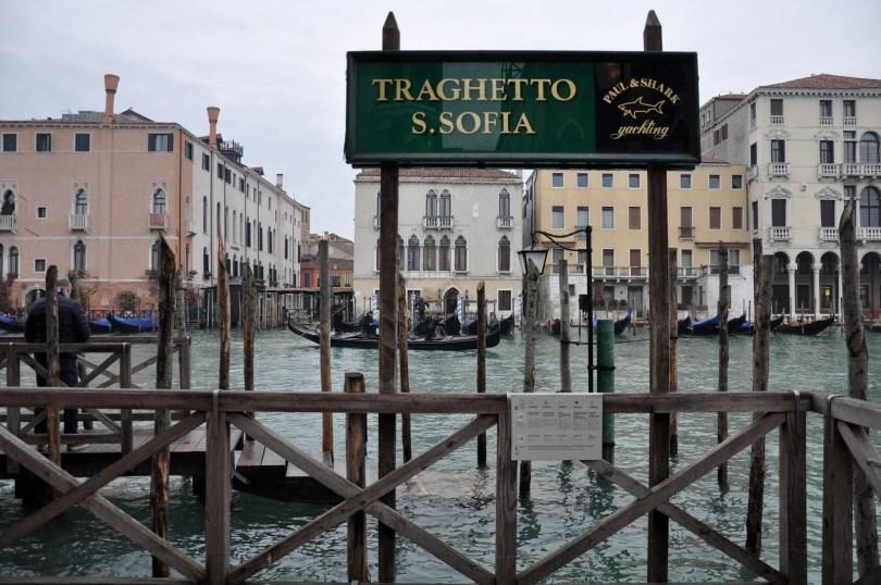 Traghetto - S. Sofia stop, Venice, Italy - rossiwrites.com